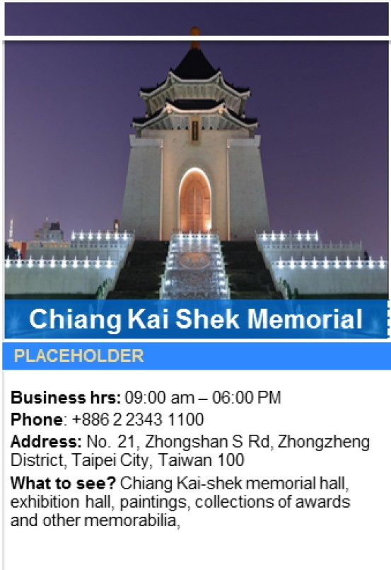 What to See in Chiang Kai-Shek