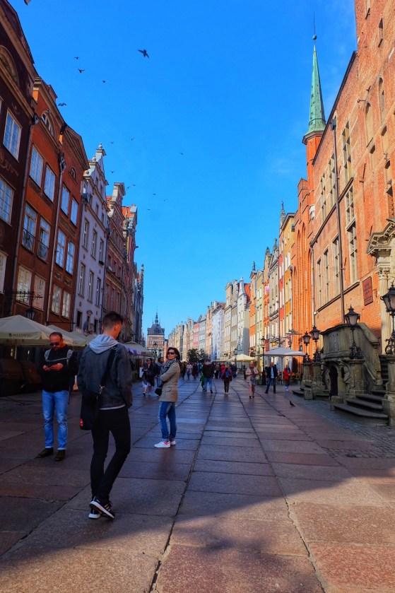 Dlugi Targ Gdansk Poland