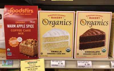 Organic Vanilla Cake