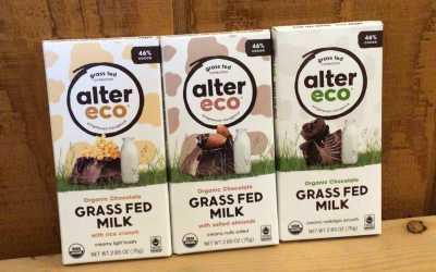 Organic Grass fed milk chocolate