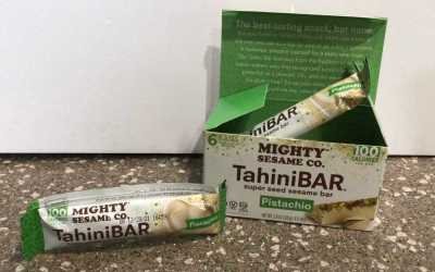 Tahini Bar ~ Pistachio