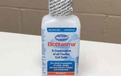 Hylands Bioplasma Cell Salts