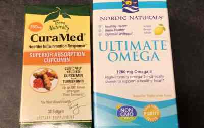Terry Naturally CuraMed Curcumin & Nordic Naturals Ultimate Omega