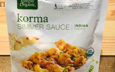 Simply Organic Korma Simmer Sauce