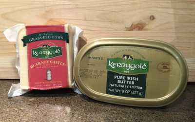 Kerrygold Blarney Castle Cheese & Kerrygold Pure Irish Soft Butter