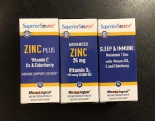 Superior Source ZINC options
