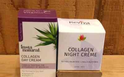 Collagen Day Cream, Collagen Night Creme, Flaxseed Oil & Organic Neem Oil