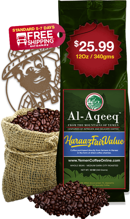 Yemen Coffee Online Haraaz Fairvalue 340g