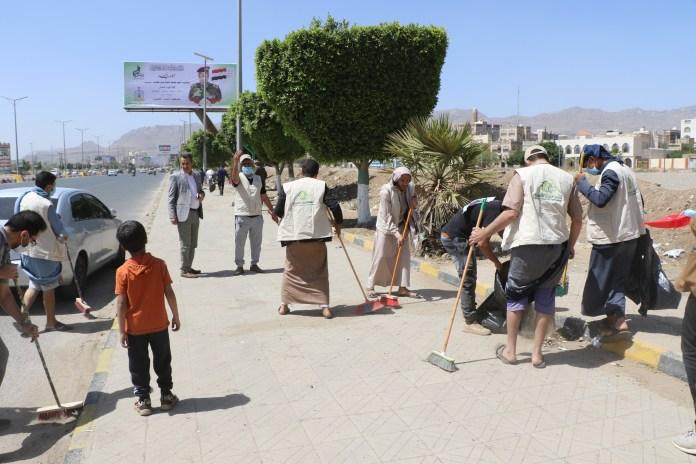 أنعام اليمن للتنمية تنفذ حملة نظافة في عدد من شوارع أمانة العاصمة4