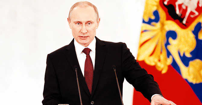 Putin: Kırım toprağımızdır!