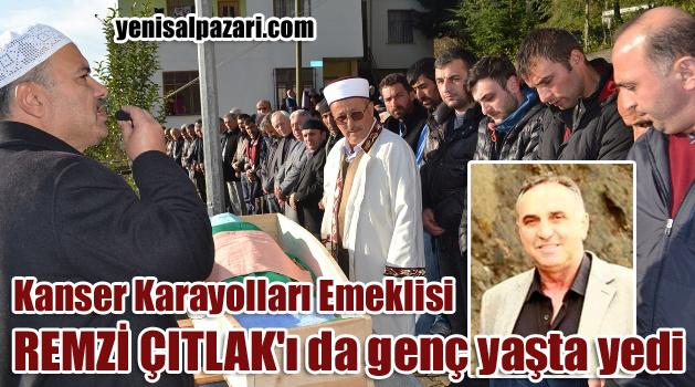 Remzi Çıtlak'ın cenaze namazını Şalpazarı Belediye Meclisi Üyesi Ahmet Kıran kıldırdı