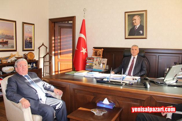AK Parti Şalpazarı İlçe Başkanı Murat Topkara geçtiğimiz günlerde İçişleri Bakanlığı Müsteşar Yrd. hemşehrimiz Aziz Yıldırım'ı makamında ziyaret etmişti
