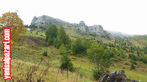 Sis Dağı'nın eteklerinde manzarasına doyum olmayan Kalpakkaya