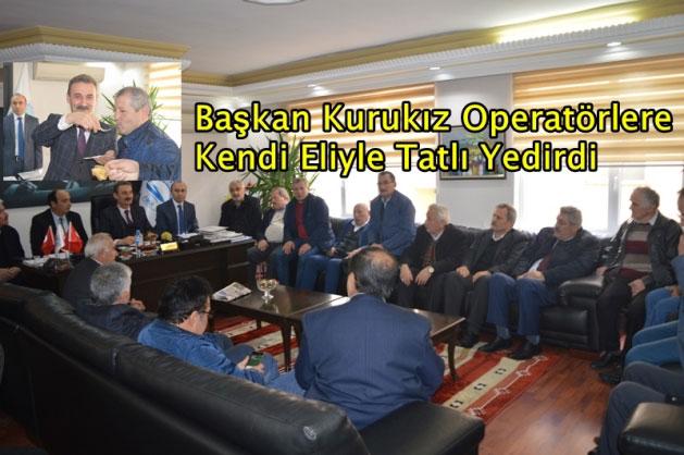 Belediye'deki muhtarlar toplantısına, Geyikli Mahallesi Muhtarı Mustafa Demirbaş yine katılmadı