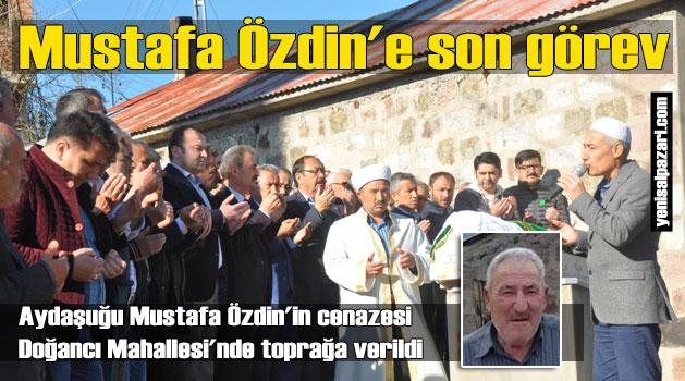 Mustafa Özdin Doğancı'da ebediyete uğurlandı