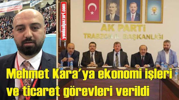 Mehmet Kara'nın AK Parti İl Teşkilatı'ndaki görevleri belli oldu