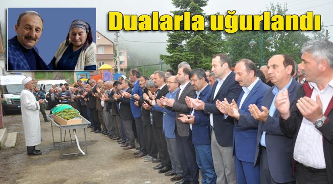 Meliha Bayraktar'ın cenazesi Geyikli Mahallesi'nde toprağa verildi
