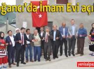 Doğancı Mahallesi'nde yaptırılan imam evi dualarla hizmete açıldı