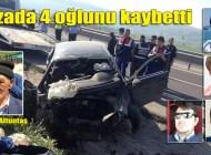 Çankırı'daki feci kaza, Özkürtün ve Şalpazarı'na ateş düşürdü
