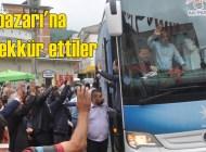 27. Dönem AK Parti Trabzon Milletvekilleri seçmenlere teşekkür ziyaretine geldiler