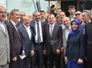 Balta ve Gümrükçüoğlu Şalpazarı'nda seçim çalışması yaptı