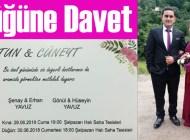 Hatun ile Cüneyt Yavuz'un düğünü bu akşam halı sahada