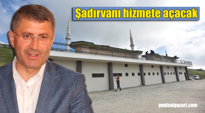 Üsküdar Belediye Başkanı Hilmi Türkmen Kadırga Camii Şadırvanını Cuma günü hizmete açacak