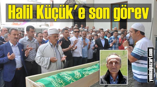Ziraat Teknikeri Halil Küçük, Şalpazarı'nda ebediyete uğurlandı