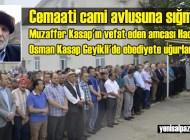 Hacı Hafız Osman Kasap'ın cenazesi, Geyikli Belkıranı Mezarlığında toprağa verildi