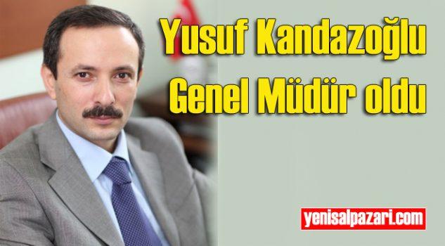 Yusuf Kandazoğlu Tarım ve Orman Bakanlığı Doğa Koruma ve Milli Parklar Genel Müdürlüğü görevine atandı