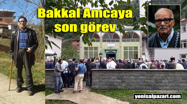 Mehmet Ali Cömert Düzköy'de son yolculuğuna uğurlandı