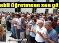 Emekli Öğretmen Mevlüt İpek Sugören Mahallesi'nde son yolculuğuna uğurlandı