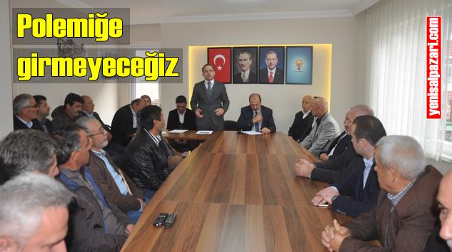 AK Parti Şalpazarı İlçe Danışma Meclisi  Toplantısı yapıldı
