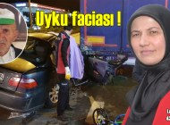 Ormancı Niyazi Bektaş'ın kızı Leyla Mumcu Çavuşlu'da trafik kazasında hayatını kaybetti