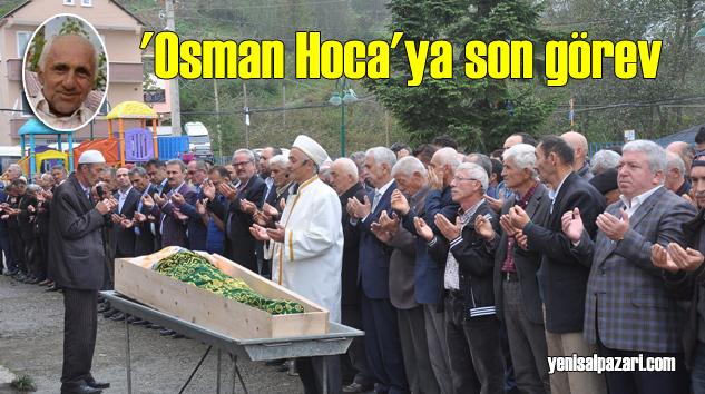 Geyikli Emekli Öğretmen Mehmet Özgül'ü ebediyete uğurladı