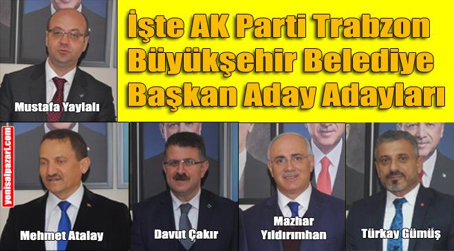 Büyükşehir ve İlçe Belediye Başkanı Aday Adayları Şalpazarı'nda Partililerin huzuruna çıktı