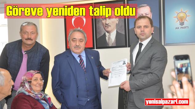 Fehmi Cengiz, AK Parti'den Şalpazarı Belediye Başkanlığı Aday Adayı oldu