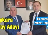 Murat Topkara AK Parti'den Şalpazarı Belediye Başkanlığı'na Aday Adayı oldu
