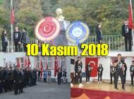 Atatürk'ü vefatının 80. yıldönümünde bir kez daha andık