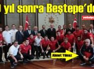 Cumhurbaşkanı Erdoğan, 2018 Ampute Futbol Dünya Kupası ikincisi Ampute Milli Takımı'nı kabul etti