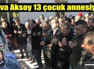 Hava Aksoy'un cenazesi Sugören Mahallesi'nde toprağa verildi