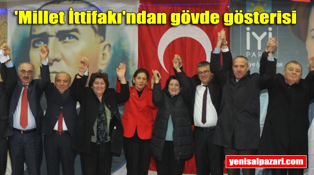 İYİ Parti Şalpazarı Belediye Başkan Adayı Mehmet Öngöz'ü halka tanıttı