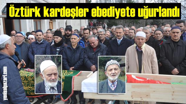 Ağırtaş'ta Ali ve Hüseyin Öztürk kardeşlerin cenazeleri toprağa verildi