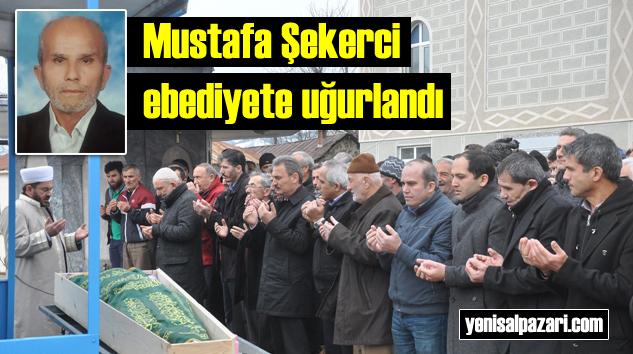 Eski esnaf Mustafa Şekirci'nin cenazesi Turalıuşağı Mahallesi'nde toprağa verildi