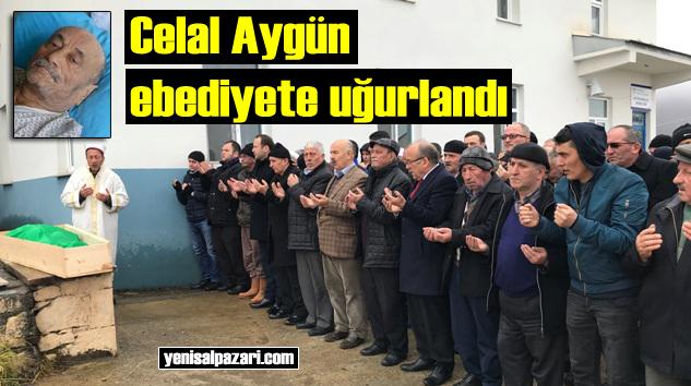Emekli Memur Celal Aygün'ün cenazesi Pelitçik'de toprağa verildi
