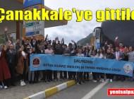 Şalpazarı AYMTAL Öğrencileri Çanakkale, Bursa, Eskişehir gezisine çıktı