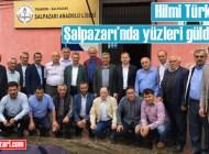 Üsküdar Belediye Başkanı Hilmi Türkmen Şalpazarı'na desteğini sürdürüyor