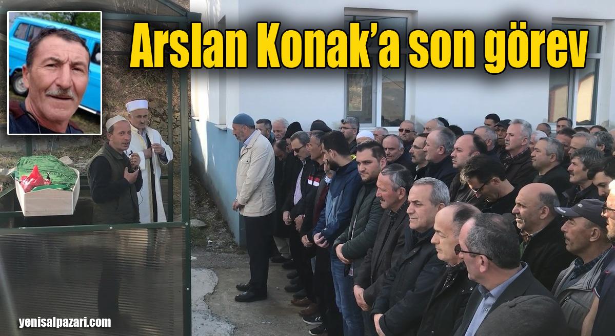 Arslan Konak'ın cenazesi Pelitçik Mahallesi'nde toprağa verildi