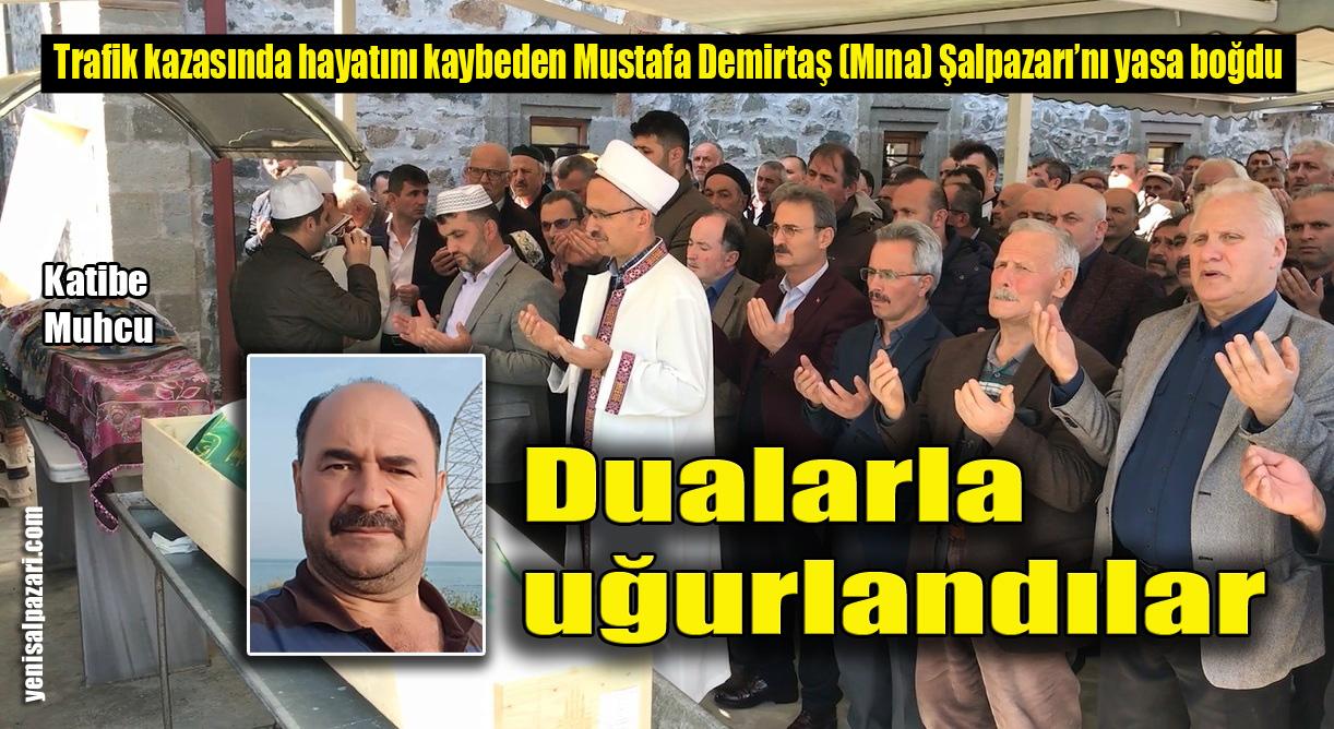 Katibe Muhcu ile Mustafa Demirtaş'ın cenazeleri Dereköy Mahallesi'nde toprağa verildi