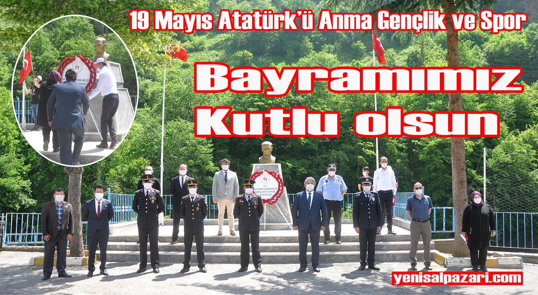 Bugün 19 Mayıs Atatürk'ü Anma Gençlik ve Spor Bayramı'nın 101. yıldönümü